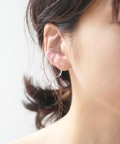 Acryl ear cuff clear 3種