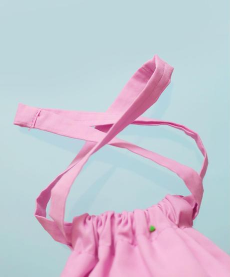 きんちゃくバッグ ピンク