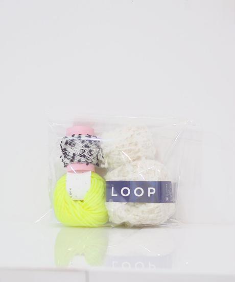 色づかいの編み小物 ミトンの糸セット