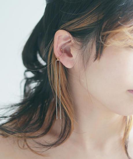 chain ear cuff gold