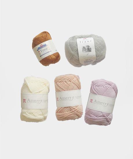 わたしのセーター ミトンの糸セット