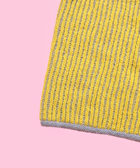 ブリオッシュ編みのネックウォーマーのkit