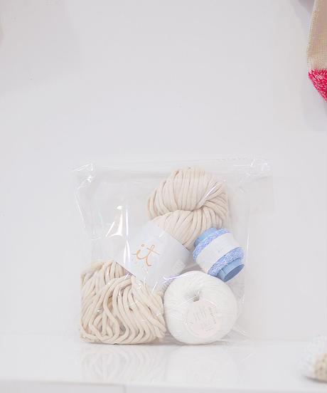 色づかいの編み小物 ショルダーバッグの糸セット