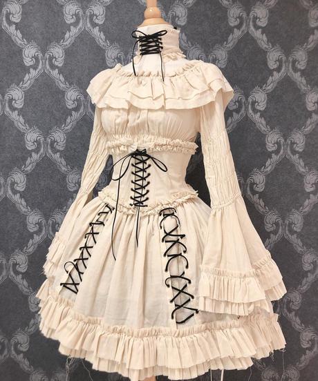 """ATELIER-PIERROT/""""decay""""series corset(アイボリー)"""