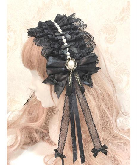 Triple* fortune /パールリボンベッドドレス(ブラック)