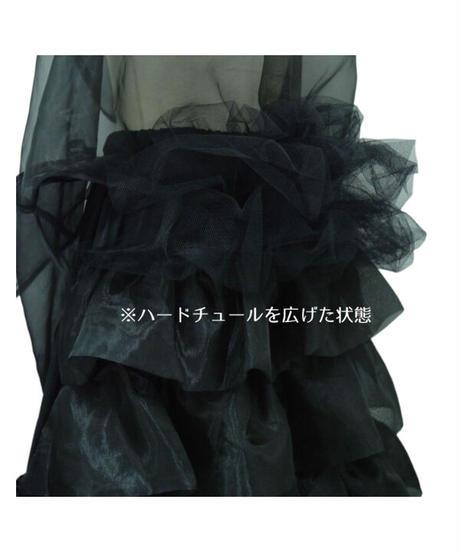 Sheglit/ロングバッスルパニエ(ブラック)