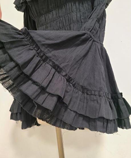 "ATELIER-PIERROT/""decay""series princess sleeve Blouse(ブラック)"