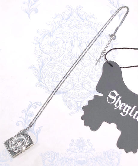 Sheglit/Celestialブックネックレス(ブラック)