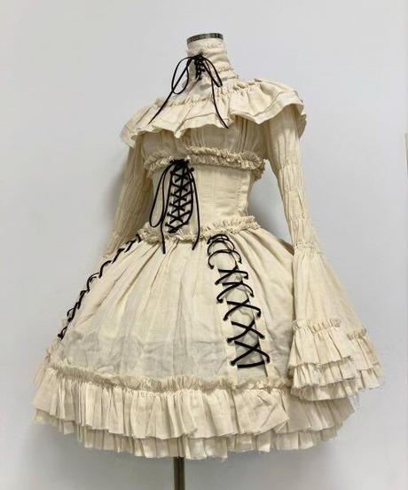 "ATELIER-PIERROT/""decay""series princess sleeve Blouse(アイボリー)"