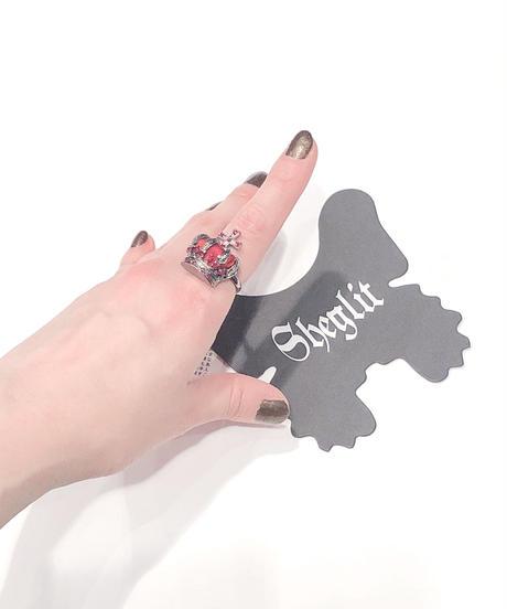 Sheglit/Nobleクラウンリング(ボルドー)