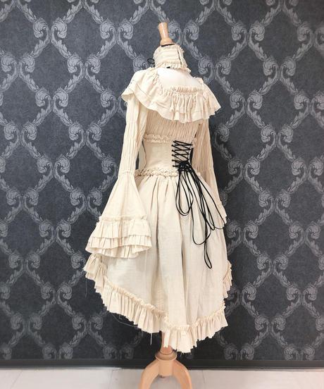 "ATELIER-PIERROT/""decay""series  Skirt (アイボリー)"