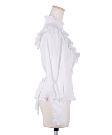 Sheglit/Victorianフリルブラウス (ホワイト)