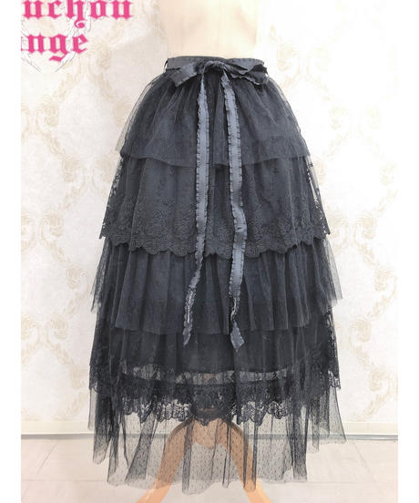Triple* fortune /3段レーススカート