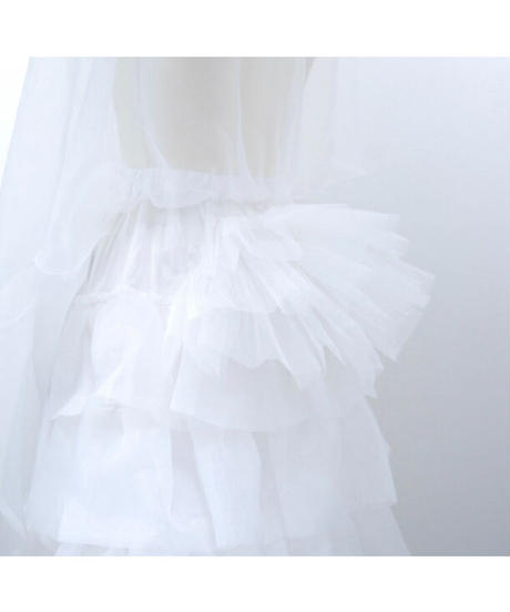 Sheglit/ロングバッスルパニエ(ホワイト)