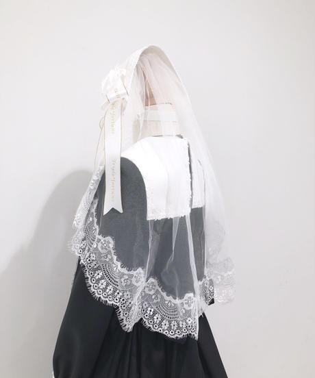 Triple* fortune / 修道女ヘッドドレス(ホワイト)