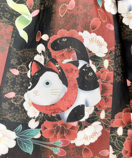 Triple* fortune / 狛猫チャイナワンピース