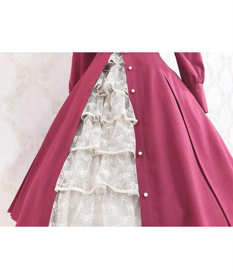 Victorian maiden/フリルミルフィーユアンダースカート (レーシーシナモン)