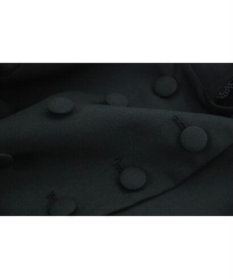 Sheglit/小夜啼鳥のクラシカルケープ(ブラック)