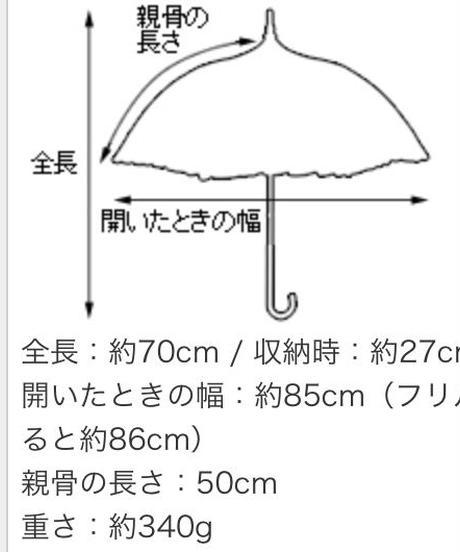 Lumiebre/プチクルールウェイ  (ミニ折りたたみ♦︎完全遮光♦︎晴雨兼用パゴダ傘)