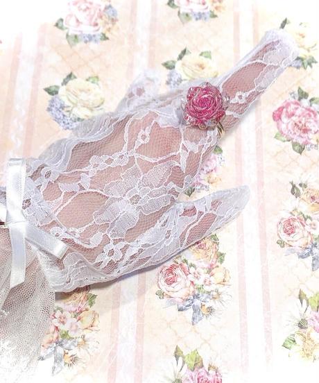 てんしのしっぽ☆/Roseリング(ピンクパープル)