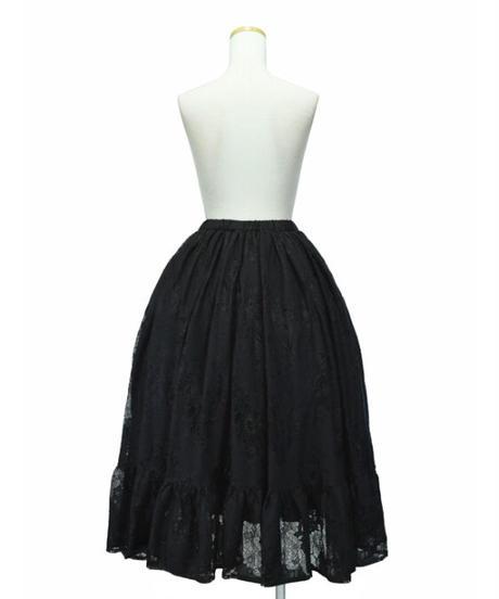 Sheglit/Odette&Odileレーススカート(ブラック)