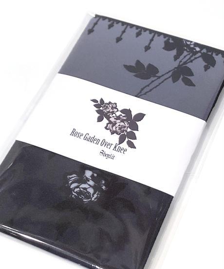 Sheglit/Rose Garden オーバーニー(ブラック)