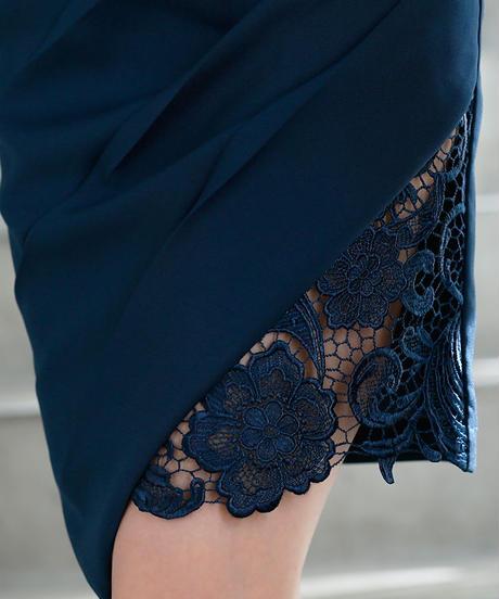 【XS~Lサイズあり】リボンベルトデザイン×ホルターネックタイトミニドレス(DE1706)