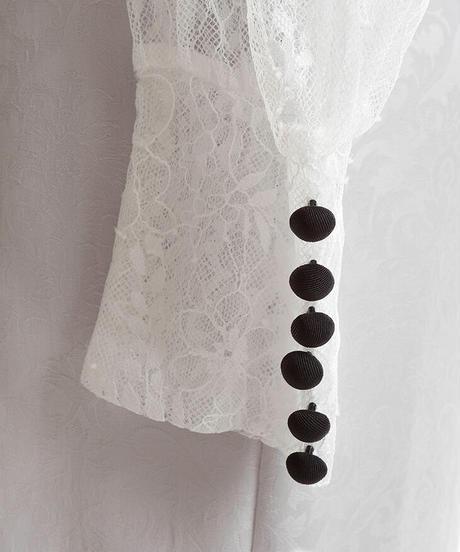 【Lサイズあり】ジャガード×ロングスリーブタイトミニドレス(DE2125)