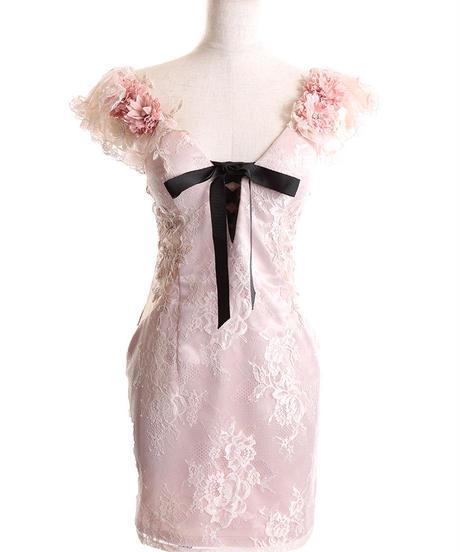 【XSサイズあり】Lily flower bouquet dress(fm2056)