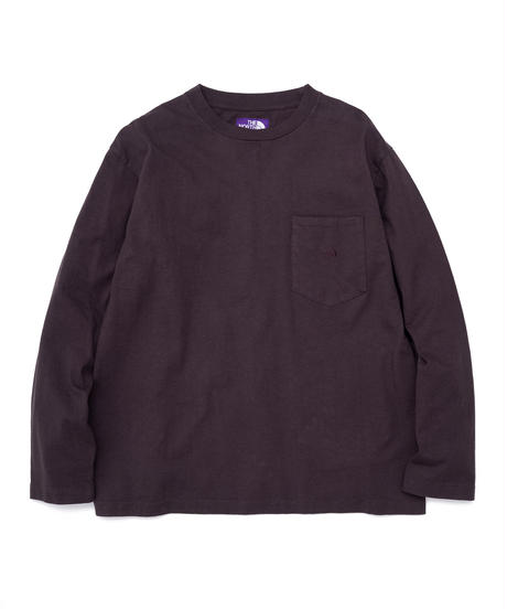 2020FW. THE NORTH FACE PURPLE LABEL 7oz L/S Pocket Tee/NT3058N/パープルレーベル ロンT