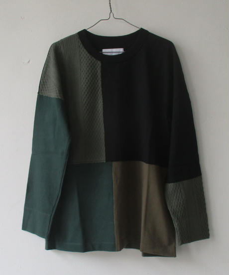 2020A/W. CURLY&co CURLY/カーリー ADDINGTON LS CN TEE/203-34082MT