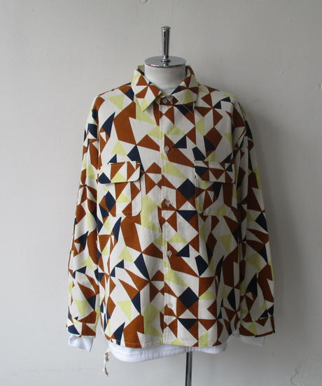 2020-Fall/WINTER. Niche (ニッチ) Reversible Patterned Shirts Jacket / F20-igas-09