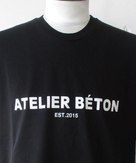 【SALE】2020SS.  ATELIER BETON/アトリエベトン RUSTIC PRINT TEE /アトリエベトン ロゴ Tシャツ