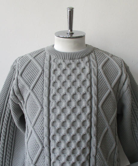 2020FW. CURLY&co CURLY(カーリー)PROSPECT FISHERMAN SWEATER/203-35092/プロスペクト フィッシャーマン セーター