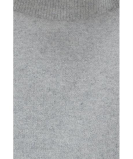 ウールタートルセーター / 灰
