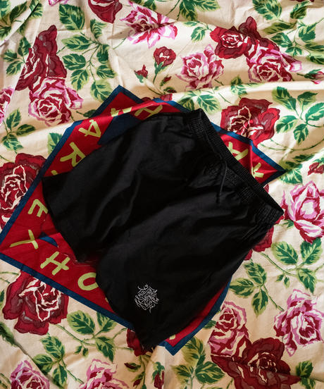 LOGO EMBROIDERED SHORTS