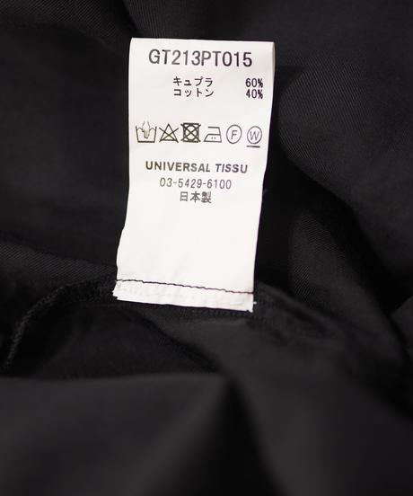 GALERIE TISSU/キュプラコットン イージーテーパードパンツ/GT213PT015