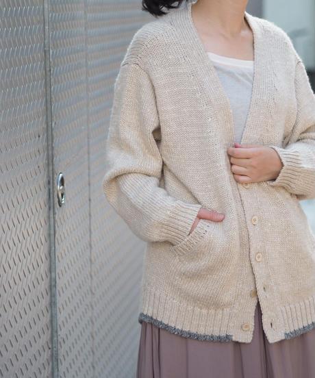 suzuki takayuki/knitted cardigan