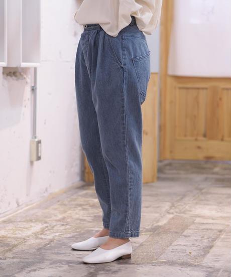 ikkuna suzuki takayuki/tapered denim pants/vintage blue