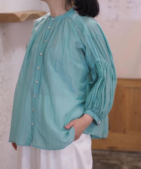 suzuki takayuki/puff-sleeve blouse/ S211-13