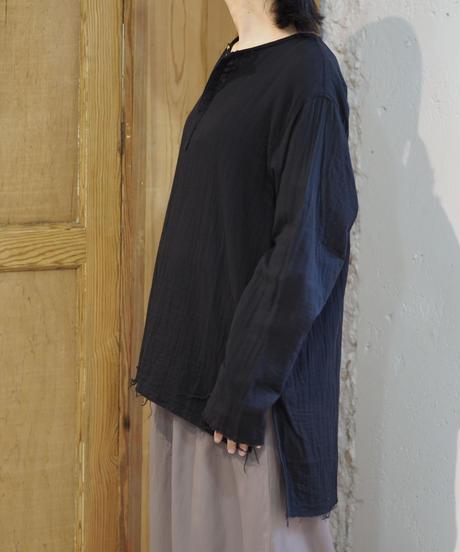 suzuki takayuki/gauze shirt