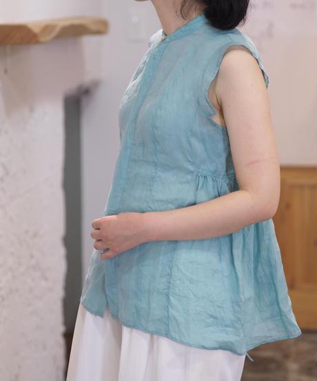 suzuki takayuki/band-sleeve blouse/S211-09
