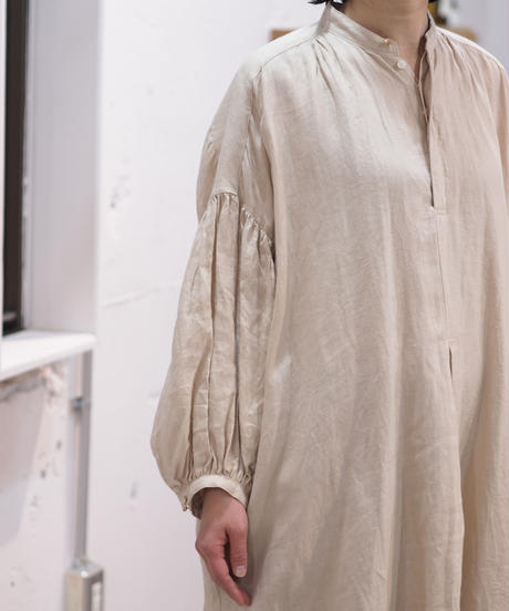 suzuki takayuki/puff-sleeve dress