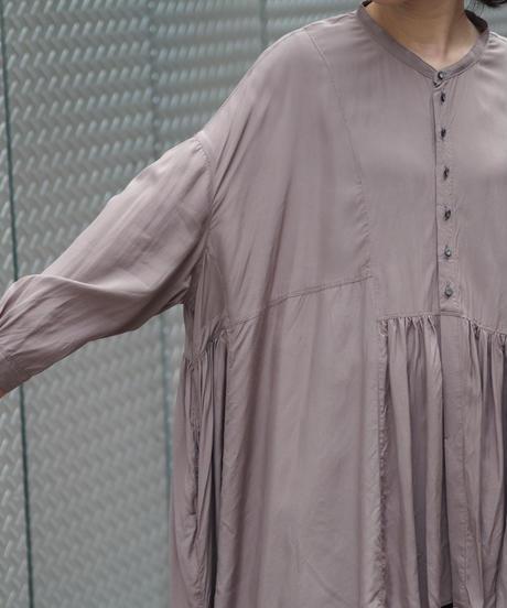 suzuki takayuki/broad blouse/grey
