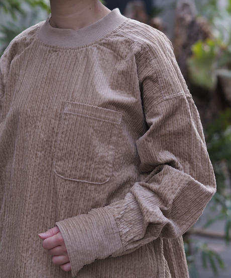 TISSU/コーデュロイプルオーバーシャツ/TS213BL086