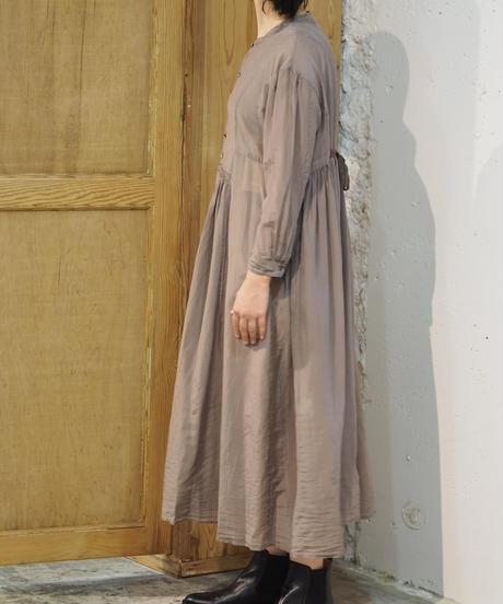 suzuki takayuki/gatherd dress/grey