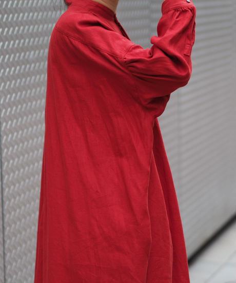 suzuki takayuki/pesant dress/vermilion