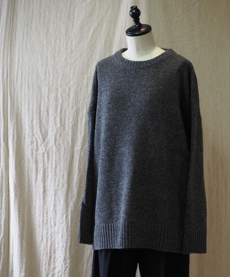 TISSU/英国羊毛 ユニセックスプルオーバー/SIZE1/TS183KN080