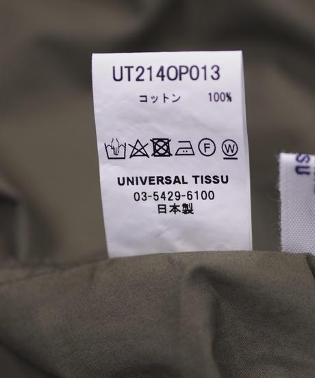 UNIVERSAL TISSU/ナチュラルタイプライター クラシックギャザーワンピース/UT214OP013