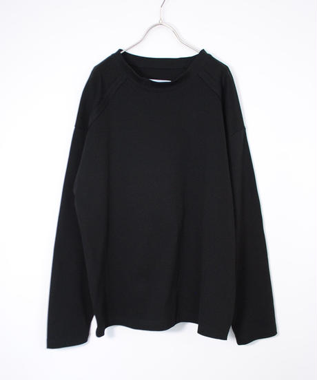 ANITYA/Ope tee long sleeve(black)